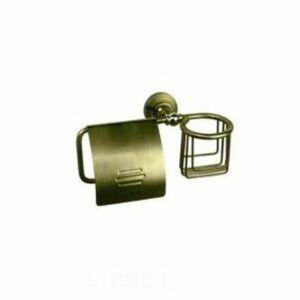 1303С-1/L Держатель для бумаги и освежителя хром (БРОНЗА)