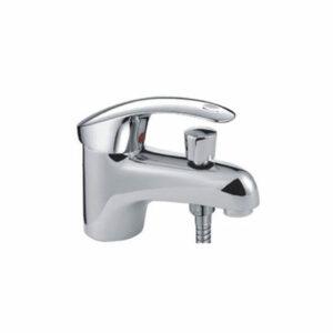 1221 Смеситель Тюльпан Frap. шар d-40 c гигиеническим душем