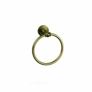 1304С/L Держатель для полотенца кольцо хром (БРОНЗА)