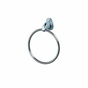1504/L Держатель для полотенца кольцо хром