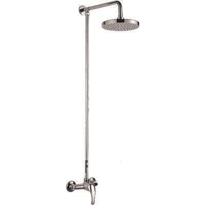 2426 Душевая система Frap с верхним душем и смесителем, хром - 1