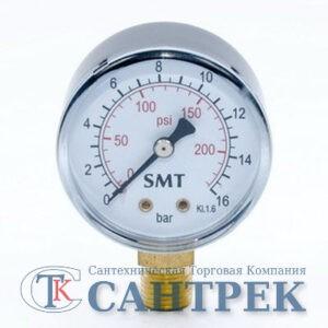 3016N0002V манометр 16 бар вертикальный 1/4 штуцер