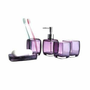 301-3/F Набор аксессуаров д/ванной (фиолетовый)