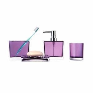 302-3/F Набор аксессуаров д/ванной (фиолетовый)