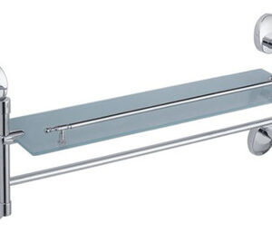 3307-4/L Полка 1-я с полотенцедержателем, 52 см