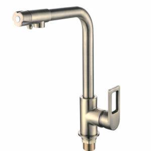 4372-4 Смеситель Кухня Frap. шар. d-40 под фильтр (бронза)
