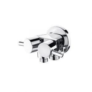 5398-3 Смеситель LEDEME встраиваемый с гигиеническим душем для скрытого монтажа