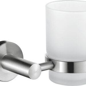 71706/L Стакан одинарный настенный (стекло)