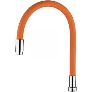 7503-7 Излив LEDEME силиконовый (оранжевый) G3/4