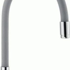 7504-9 Излив LEDEME силиконовый (серый)