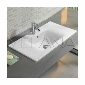 800-9060D Раковина для ванной врезная 605х465х175 MELANA