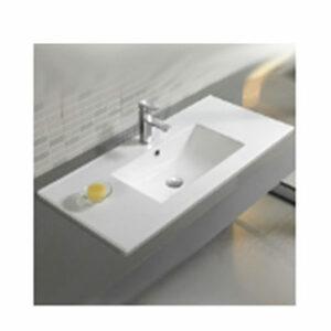 800-9075E Раковина для ванной врезная 755х463х175 MELANA