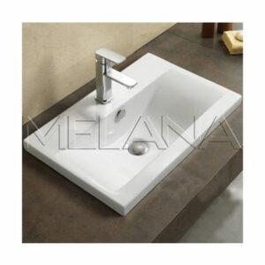 800-9393 (60) Раковина для ванной врезная 610х395х185 MELANA
