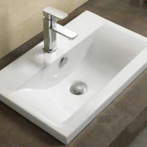 800-9393 (80) Раковина для ванной врезная 810х395х185 MELANA
