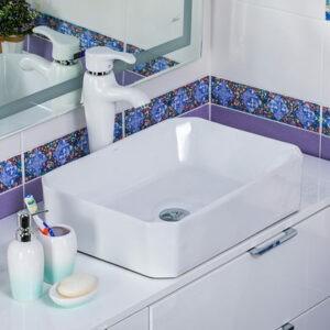 800-А465 Раковина для ванной MELANA