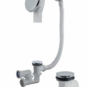 А-2608 Cифон для ванны (обвязка) ОРИО 1 1/2'х40, регул,'КЛИК-КЛАК', с метал перел