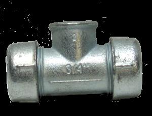 AGA Тройник зажимной TK 3/4' (внутр.резьба)