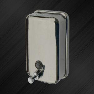Дозатор для жидкого мыла настенный Solinne TM801 0,5л, нерж. сталь, хром/глянец