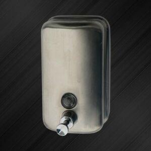 Дозатор для жидкого мыла настенный Solinne TM804ML 1л, нерж. сталь, хром/матовый