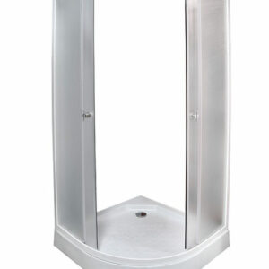 Душевой уголок СТК (рег.№468190) AQUA-0301 90*90*195 низ. поддон стекло мат.2 кор.