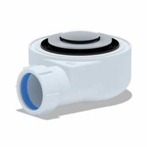 E450CL Сифон для душевого поддона 1 1/2*50 h=55mm, хром, клик-клак