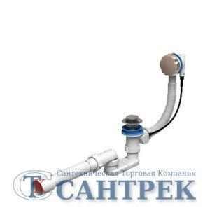 Обвязка на ванну  1 1/2*40 полуавтомат 520 мм ЕM601 АНИ пласт (ручка металл)