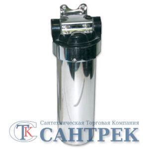 Фильтр магистральный для гор. воды WF-HOT-SS-BB10 нержавейка 1/2 (без картриджа)