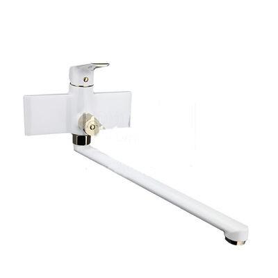 G2280 Смеситель Ванна GAPPO шар. d-25 дл излив, белый/золото - 1