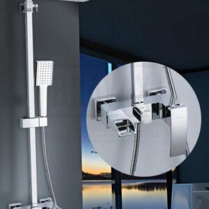 G2407-20 Душевая система GAPPO с верхним душем и ручной лейкой (хром)