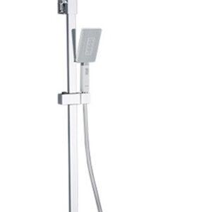 G2408-8 Душевая система GAPPO с верхним душем и ручной лейкой (бел/хром)