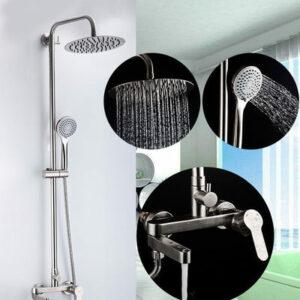 G2499-30 Душевая система GAPPO излив является переключателем на лейку или верх душ НЕРЖ