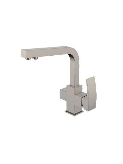 G4307-5 Смеситель Кухня GAPPO шар d-35 с доп выходом для питьевой воды (сатин) - 1