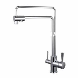 G4398-5 Cмеситель Кухня GAPPO d-35 с подключением фильтра питьевой воды (хром)