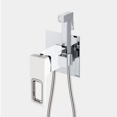 G7217-8 Гигиенический душ GAPPO встроенный (бел/хром) - 1