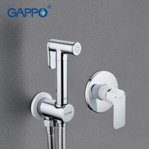 G7248 Гигиенический душ GAPPO встроенный (бел/хром)