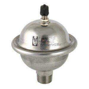 Гаситель гидроударов VALTEC мембранный, 0,162л (нерж) (VT.CAR19.I.04001)