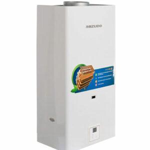 Газовый водонагреватель Mizudo ВПГ2-11ЭМ 11л. белый (11л/мин, 22кВт,евр.типа, диспл., 2 года гар)