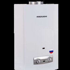 Газовый водонагреватель Mizudo ВПГ2-14ММ 11л. белый (14л/мин, 28кВт,евр.типа, диспл., 2 года гар)