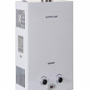 Газовый водонагреватель Superflame SF0420 Т 10л белый Полу Турбо (Мощн. 20 кВт,расход воды 10 л/мин)
