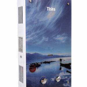 Газовый водонагреватель Tisira TS0120Е 10л. Стекло / ЛЕТО без дисплея (Мощн. 20 кВт, расход 1