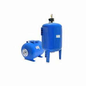 Гидроаккумулятор Беламос 80СТ2 горизонтальный (сталь, синий)