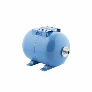Гидроаккумулятор Джилекс ГП 18 горизонтальный (пластиковый фланец, синий)