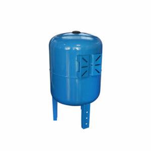 Гидроаккумулятор СТК 100л вертикальный, G1', с площадкой, синий