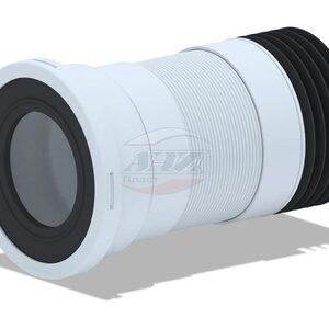 K718R Удлинитель гибкий для унитаза , короткий