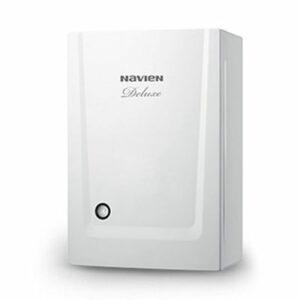 Котёл NAVIEN DELUXE-35K White(белый) (для отоп. и ГВС, закр.камер.сгор)