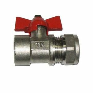 Кран шар. для металлопл. трубы 3/4'х20 г/ц