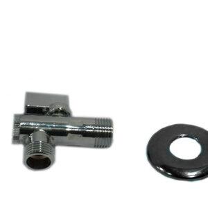 Кран угловой 1/2-1/2 c фильтром TRm (751) L94