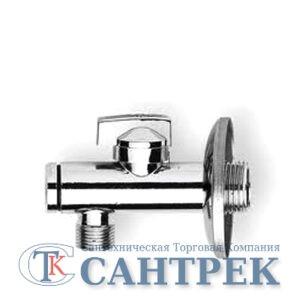 Кран угловой 1/2-3/4 RR с фильтром (123)