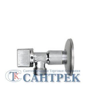 Кран угловой JIF 1/2х1/2 ш/ш с отражателем (264)