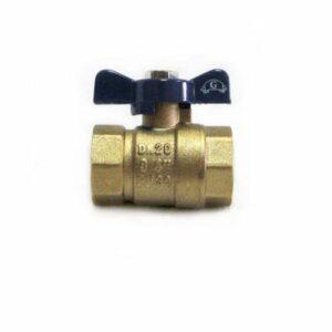 Кран вода GLORIA 3/4' г/г баб PN 30